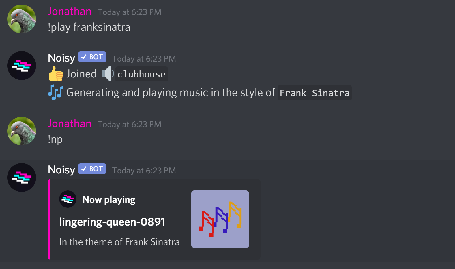 discord player